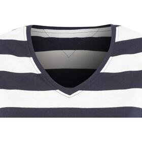 Bergans Bastøy - T-shirt manches courtes Femme - bleu/blanc